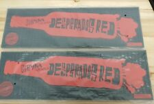 2 X Desperados Tequila Flavoured Beer Thick Rubber Bar Runners