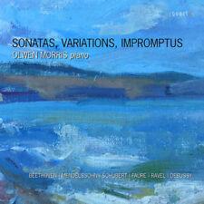 Olwen Morris : Sonatas, Variations, Impromptus CD (2017) ***NEW***