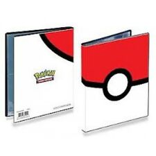 Pokeball Pokemon Ultra Pro A5 Album Folder Portfolio 4 Pocket Holds 80 Cards