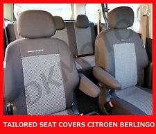 Tailored Seat Covers for Citroen Berlingo Multispace - full set grey 2