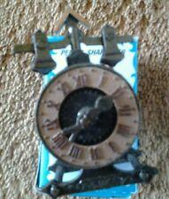 Die-Cast Metal Miniature Pencil Sharpener Clock No. 8754