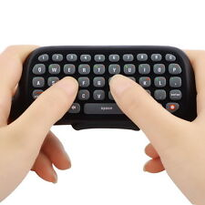 Wireless Controller Messenger Game Keyboard Keypad ChatPad For XBOX 360 Black OS