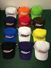Titleist Junior Adjustable Cap Choice of Colours CHEAPEST UK White/navy/red