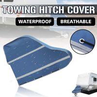 Universal Caravan Trailer Hitch Cover Trailer Tow Ball Coupling Lock Waterproof