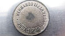 """Venezuela """"Hermanos Lizzaraga  JBDA 1906"""" 2 (Reales) token."""