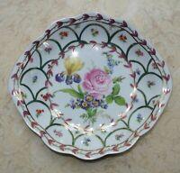 Vintage Heirloom By Toyo Bowl Gold Trim,Flowers