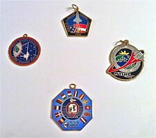 Key Chain Fobs for STS-53, STS-99, STS-45, and ISS (NASA)