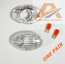 SUBARU IMPREZA / FORESTER GUARD FENDER CRYSTAL FLASHER INDICATOR BLINKER ONE SET