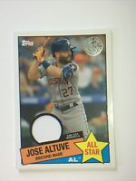 2020 Topps Jose Altuve 1985 ALL-STARS RELICS Game Worn Jersey Relic ASTROS