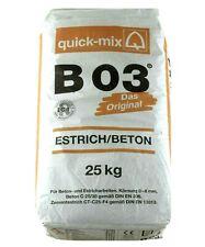 Estrich B03 , Estrichbeton, Zementestrich, Trockenmörtel 10 Kg
