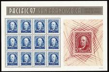Scott 3139-40, Pacific '97 Souvenir Sheets of 12 - MNH & Fault Free