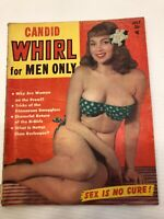 Vintage Candid Whirl Magazine - July 1952