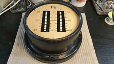 Vintage, Collectible  Vibrating Reed Frequency Meter