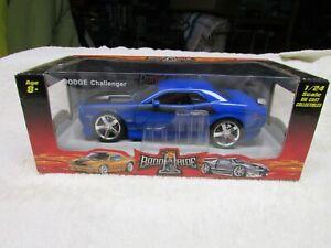 badd ride 1/24 Dodge Challenger rt Blue NIB