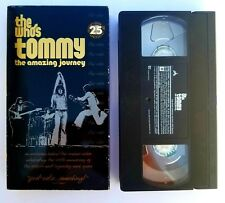 The Who's Tommy - The Amazing Journey -1993 VHS Documentary Video Rock Video