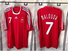 France 2008/09 International Away Soccer Jersey Large Malouda 7 Adidas