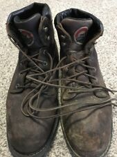 """Red Wing Shoes Men's Ely Brown Hiker 6"""" Work Boots - Steel Toe US Size 9"""