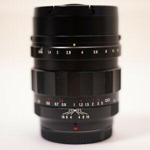 Voigtlander Nokton 42.5mm F/0.95 Lens M43 Blackmagic BMPCC 4K GH5/S E-M1 II/III