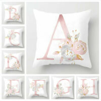 45x45cm Kids Room Decoration Letter Pillow English Alphabet Polyester Cushion