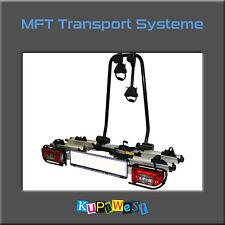 MFT Aluline Fahrradträger Heckträger für 2 Fahrräder auf Anhängerkupplung Träger