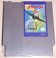 Stealth ATF  Flight Flying Nintendo NES Vintage classic original game cartridge