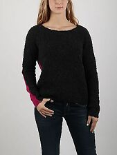 Replay Jumper Knitted Sweater Pullover Pink Black 2 Tone Ladies Size L *REF50
