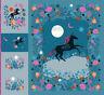"FABRIC ~ CRESENT MAGIC UNICORN DIGITAL PANEL ~ by Ruby Star Society 99""x  108"""