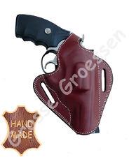 Revolverholster UNIVERSAL -Braun-  Leder - Handarbeit - Revolver-Holster