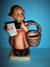 "HUMMEL ""Meditation"" Girl with Basket Figurine #13/0 (TMK-4- 5.25""Tall-MINT"
