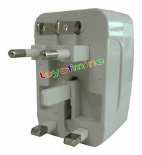 Multi-Converter Universal Travel Wall Charger Adapter Power Plug AU/UK/US/EU