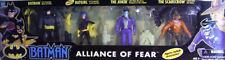 Batman The Animated Series Alliance of Fear Joker Scarecrow & New Batgirl Kenner