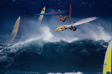 568018 Barrel Roll And Off The Lip On The Same Wave Hookipa A4 Photo Print