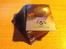 BABYLON 5 SEASON 5 COMPLETE BASIC SET OF CARDS