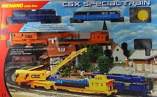 MEHANO Train Line CSX SPECIAL Train h0 SNCF Burlington NUOVO OVP RARE