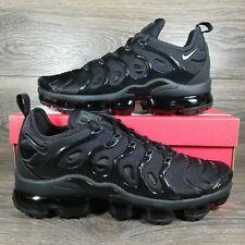 NikeAir VaporMax Plus 'Triple Black' Running Shoes (924453-004) Men's Sizes