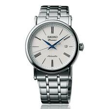 SEIKO MEN'S PREMIER 40.6MM STEEL BRACELET & CASE AUTOMATIC ANALOG WATCH SRPA17