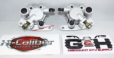 New 2003-2008 Yamaha YFM 660 Grizzly Front Left & Right Brake Calipers with Pads
