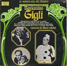 LE GRANDI VOCI DEL PASSATO # BENIAMINI GIGLI - CANZONI DA FILMS CELEBRI