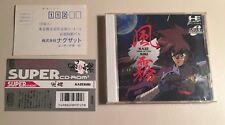 Kaze Kiri PC Engine Super CD - Original - Japan Import - US Seller