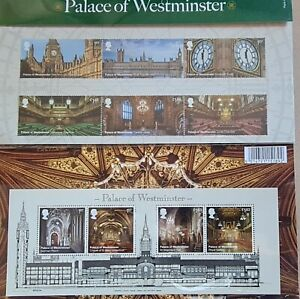 Royal Mail Stamps Pack 589 - Palace of Westminster