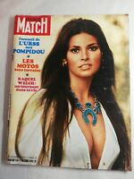 N1931 Magazine Paris-Match N°1119 17 oct 1970 Raquel Welch, URSS POMPIDOU...