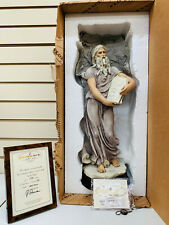 Giuseppe Armani Moses Statue 666C Mint Condition In Box With Certificate