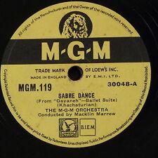 78rpm KHACHATURIAN - SABRE DANCE / BOHEMIAN POLKA macklin marrow
