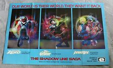 Shadow Line Saga 1988 Doctor Zero St George PowerLine Epic PROMO Poster VF