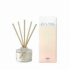 Ecoya Vanilla Bean Mini Reed Diffuser 50ml