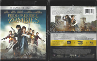 Pride and Prejudice and Zombies (Includes 4K Ultra HD + Blu-ray, 2016)