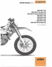 KTM Service Workshop Shop Repair Manual Book 2015 350 EXC-F Six Days
