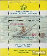 Indonesia Block33 (volledige uitgave) postfris MNH 1980 Jeugd loves de Natuur