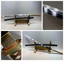 Japanese Shrine Ninja Sect Samurai Tang Sword Katana T10 Burnning Steel Blade