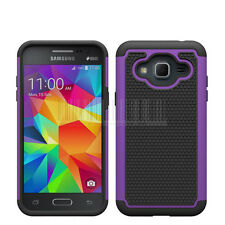 For Samsung Galaxy J3 2016 Shockproof Rugged Hybrid Armor Rubber Hard Case Cover